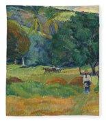 The Small Valley Fleece Blanket