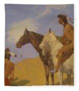 The Smoke Signal 1905 Fleece Blanket