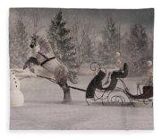 The Snowman Fleece Blanket