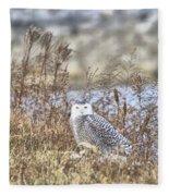 The Snowy Owl Fleece Blanket