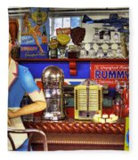 The Soda Fountain Fleece Blanket