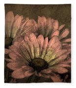 The Soft Glow Of Spring Fleece Blanket