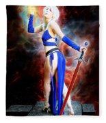 The Sorceress And The Sword Fleece Blanket