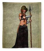 The Sorceress Mage Fleece Blanket