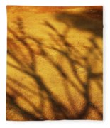 The Soundlessness Of Nature Fleece Blanket