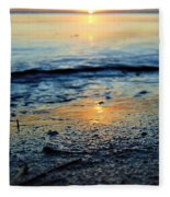 The Sound's Edge Fleece Blanket
