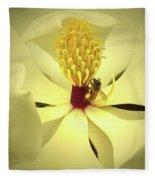 The Southern Magnolia Fleece Blanket