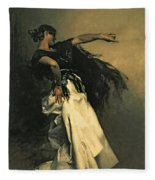 The Spanish Dancer Fleece Blanket
