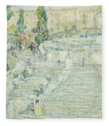 Lovely The Spanish Stairs, Rome, 1897 Fleece Blanket