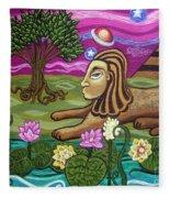 The Sphinx Fleece Blanket