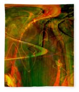 The Spirit Glows Fleece Blanket
