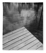 The Spirits Of Kripplebush Pond Fleece Blanket