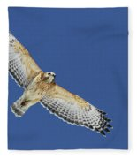 The Spirit Of The Hawk Fleece Blanket