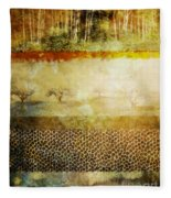 The Spirit Trees Fleece Blanket
