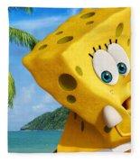 The Spongebob Movie Sponge Out Of Water Fleece Blanket