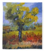 The Spring Tree Fleece Blanket