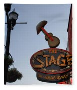The Stage Nashville Fleece Blanket
