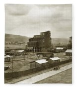 The Stanton Colliery Empire St. The Heights Wilkes Barre Pa Early 1900s Fleece Blanket
