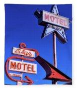 The Star Motel Fleece Blanket