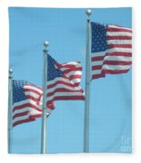 The Stars And Stripes Fleece Blanket