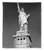 The Statue Of Liberty  Photo Fleece Blanket