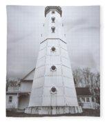The Steel Tower Fleece Blanket