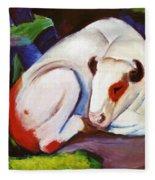 The Steer The Bull 1911 Fleece Blanket