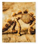 The Stegosaurus Art In Form Fleece Blanket