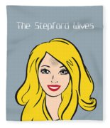 The Stepford Wives - Alternative Movie Poster Fleece Blanket