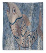 The Stone Fish Fleece Blanket