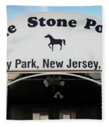The Stone Pony, Asbury Park Fleece Blanket