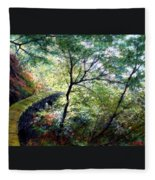 The Stone Wall Fleece Blanket
