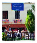 The Stonewall Inn National Monument Fleece Blanket