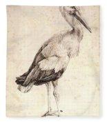 The Stork 1515 Fleece Blanket