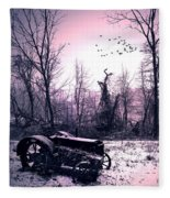 The Straggler...thurston Hollow Pa. Fleece Blanket