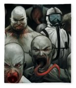 The Strain Fleece Blanket
