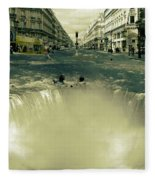 The Street Fall Fleece Blanket