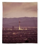 The Strip. 4 Of 4 Fleece Blanket