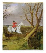 The Suffolk Hunt - Gone Away Fleece Blanket