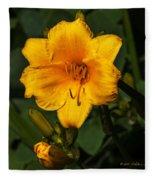 The Summer Blooms Fleece Blanket