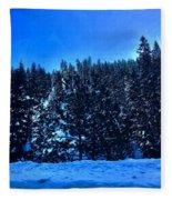 The Summit  Fleece Blanket