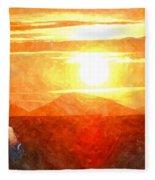 The Sun Dance Fleece Blanket