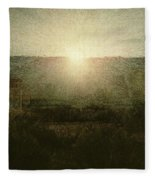 The Sun Fleece Blanket