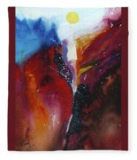 The Sun Rise Fleece Blanket