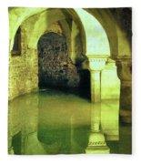 The Sunken Crypt Of San Zaccaria Fleece Blanket