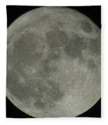 The Super Moon 4 Fleece Blanket
