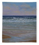 The Surf Walker Fleece Blanket