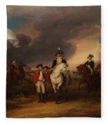 The Surrender Of Lord Cornwallis At Yorktown Fleece Blanket