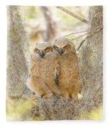 The Swing Fleece Blanket