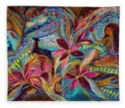 The Tales Of One Thousand And One Nights Fleece Blanket